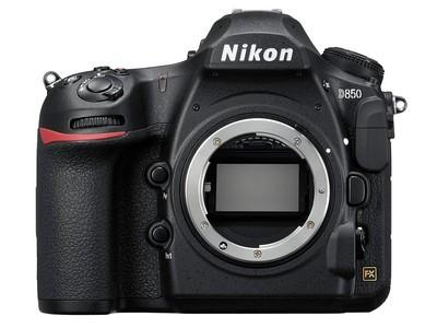 尼康单反 D850单机 专业级全画幅单反相机 高清数码摄影照相机
