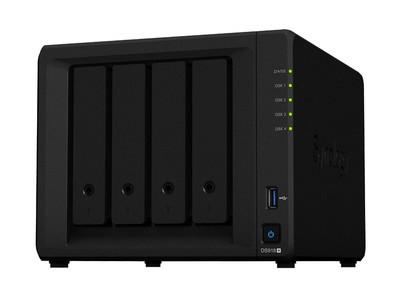 群晖 DS918+  企业4盘位网络存储服务器